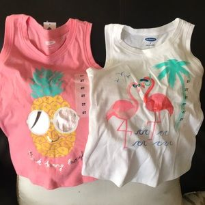 NWT. Two Old Navy sleeveless tops